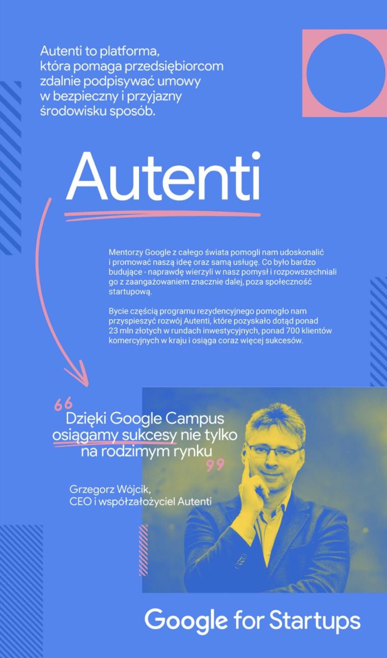 Google StartCup-Autenti-back